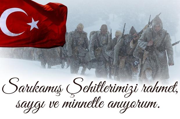 Sungurlu Bakkallar Odası Başkanı Osman Aşutoğlu, Sarıkamış harekatının 103.Yıl dönümü nedeniyle bir anma mesajı yayımladı. | Sungurlu Haber