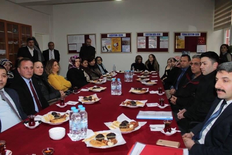 İlçemizde 2017 – 2018 eğitim öğretim yılı 2. dönemi açılış töreni Sungurlu Haydar Öztaş Anadolu Lisesi'nde gerçekleştirildi. | Sungurlu Haber