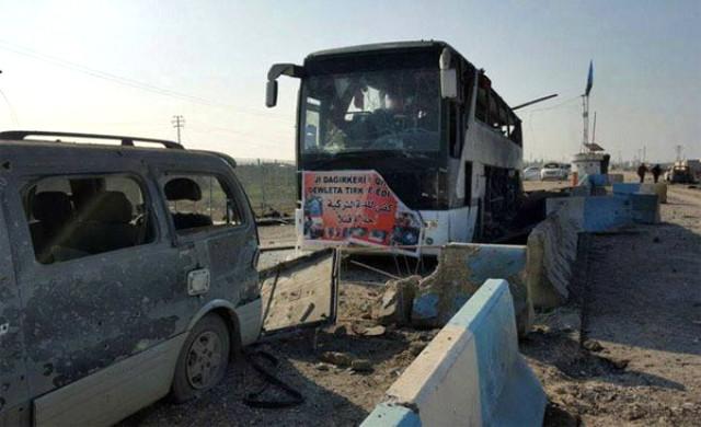 Afrin'e yaklaşan 40 araçlık terör konvoyunu Mehmetçik, havaya uçurmuştu. İmha edilen konvoyun gündüz çekilmiş fotoğrafları ortaya çıktı. | Sungurlu Haber