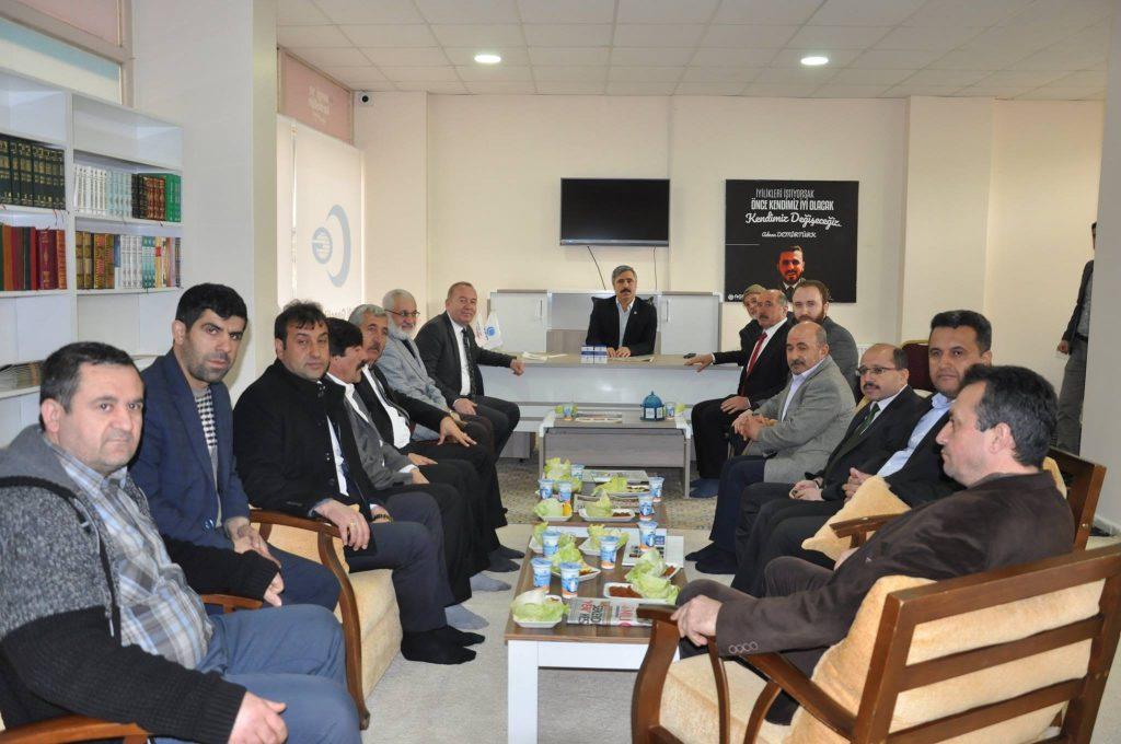 Anadolu Gençlik Derneği (AGD) Sungurlu Temsilciliği yeni hizmet binasının açılışı yapıldı. | Sungurlu Haber