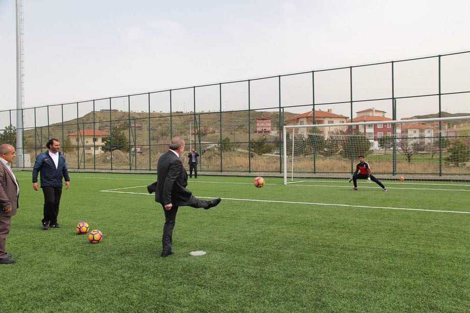 Başkan ve yönetim, sporculara moral verdi   Sungurlu Haber