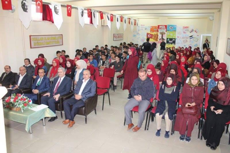Şehit Ali Alıtkan Anadolu İmam Hatip Lisesi farklı bir gün yaşadı. | Sungurlu Haber