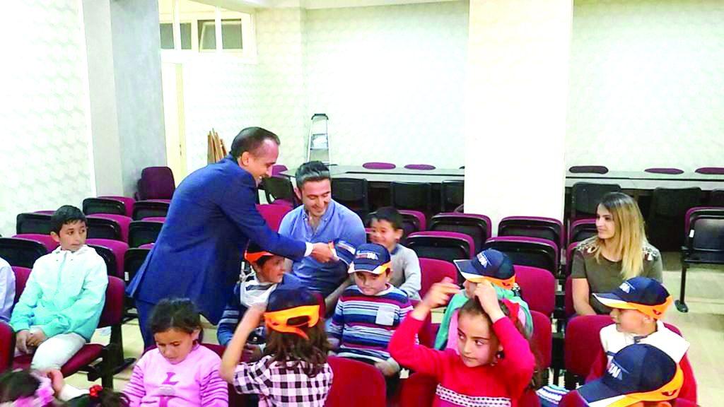 Alembeyli İlk ve Ortaokulu öğrencileri Sungurlu İlçe Milli Eğitim Müdürlüğünü ziyaret ettiler. | Sungurlu Haber