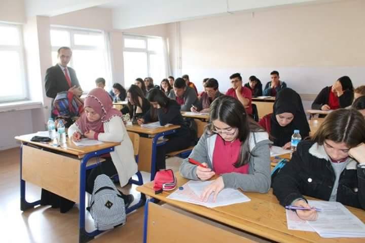 İlçe Milli Eğitim Müdürlüğü sınav takip merkezinde ilçemizde görev yapan öğretmenlerden oluşan komisyon tarafından özgün olarak hazırlanan 12. sınıflara yönelik deneme sınavı yapıldı. | Sungurlu Haber