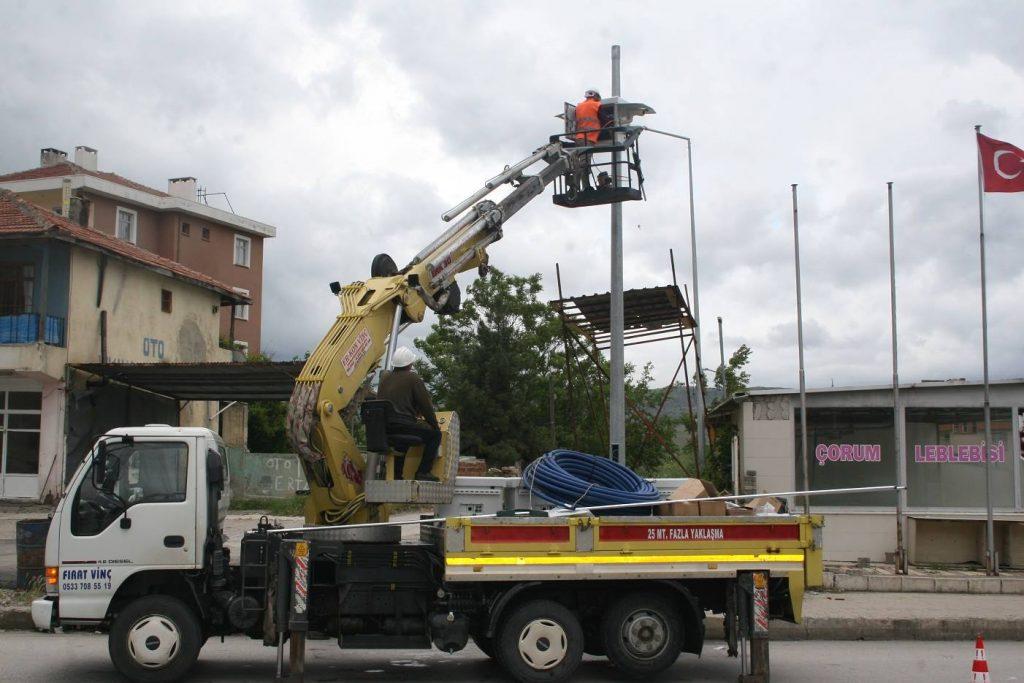 MOBESE Kameraları Yenileniyor | Sungurlu Haber