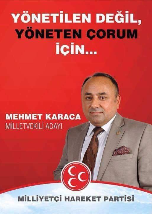 Milliyetçi Hareket Partisi Sungurlu İlçe Başkanı Yasin ŞAHİN ,27 dönem Genel seçimlerine MHP olarak Sungurludan Sıralamaya iki aday verdiklerini belirterek Memleketin Çocuklarını Çorumdan MHP aday gösterdi dedi | Sungurlu Haber