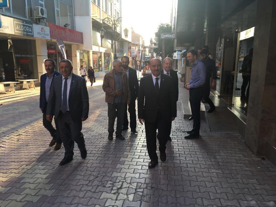 24 Haziran Seçimleri kapsamında Çorum'u ilçeleri ve köyleri ile ziyaret etmeye devam eden İYİ Parti Milletvekili Adayları Fatih Mehmet Arslan ile Sefer Yılmaz, çalışmalarını her geçen gün artırarak sürdürüyor. | Sungurlu Haber