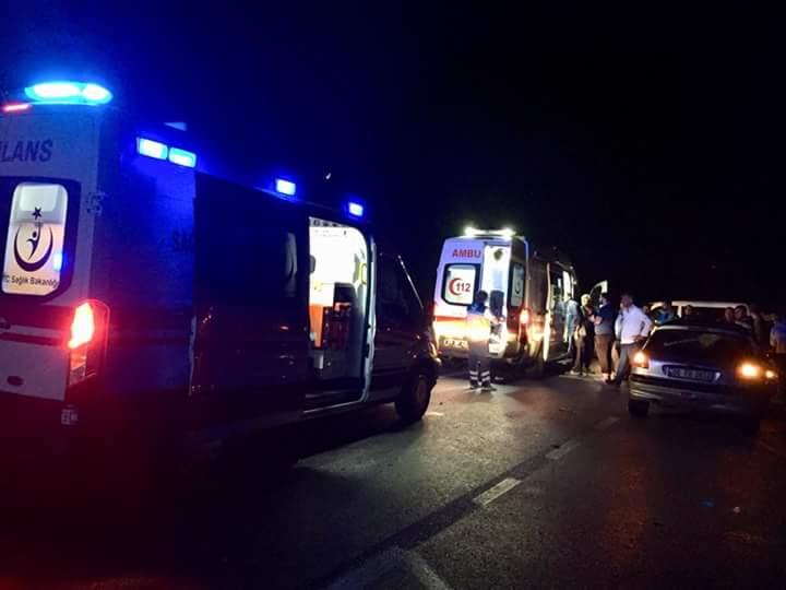 Sungurlu'da meydana gelen trafik kazasında 10 kişi yaralandı. | Sungurlu Haber