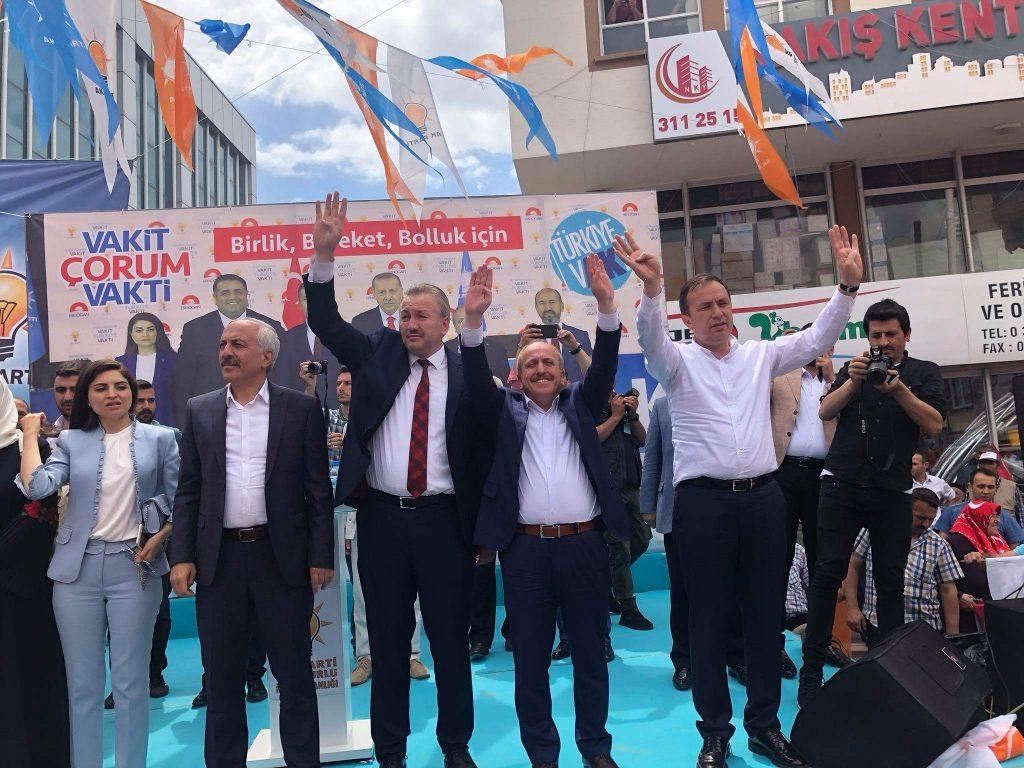 Ak Parti'de Miting Coşkusu | Sungurlu Haber