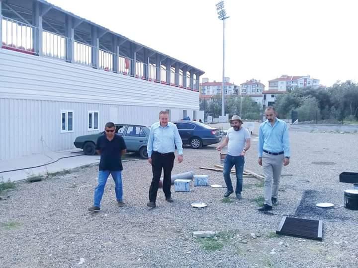 Şehir stadyumuna 4 odalı soyunma odaları yapılacak | Sungurlu Haber