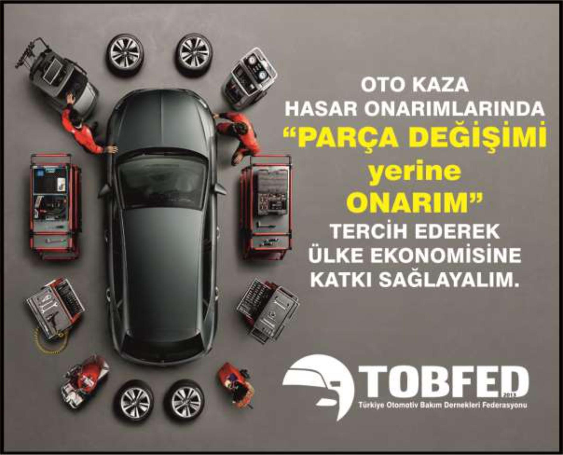 TOBFED(Türkiye Otomotiv Bakım Dernekleri Federasyonu) Genel Başkan Yardımcısı Fatih Kankurdan, Kurban Bayramındaki yoğun trafiğin neden olduğu motorlu araç trafik kazalarındaki hasar onarım süreçlerinde ülkemiz ekonomisine katkısı 1 milyar$ varan tasarruf yöntemine ilişkin basın açıklamasında bulundu. | Sungurlu Haber