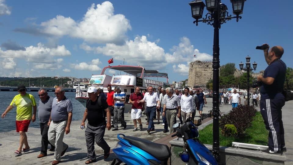 Sungurlu Belediye Başkanı Abdulkadir Şahiner, Sinop'a düzenlenen kültür gezisine katıldı. Sungurlulu erkekler Belediye Başkanlığı tarafından ücretsiz düzenlenen geziye katılarak farklı yerleri görmenin ve keşfetmenin tadını çıkardı.   Sungurlu Haber