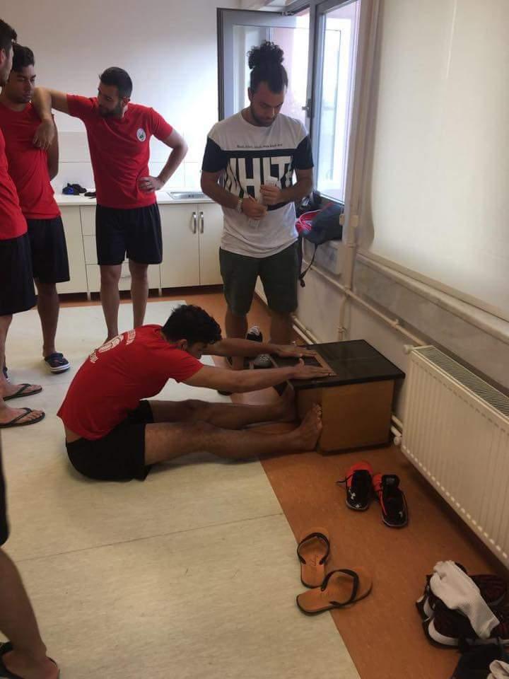 Erkekler voleybol 1. liginde mücadele edecek olan Sungurlu Belediyespor sporcuları sağlık kontrolünden sağlam çıktı. | Sungurlu Haber