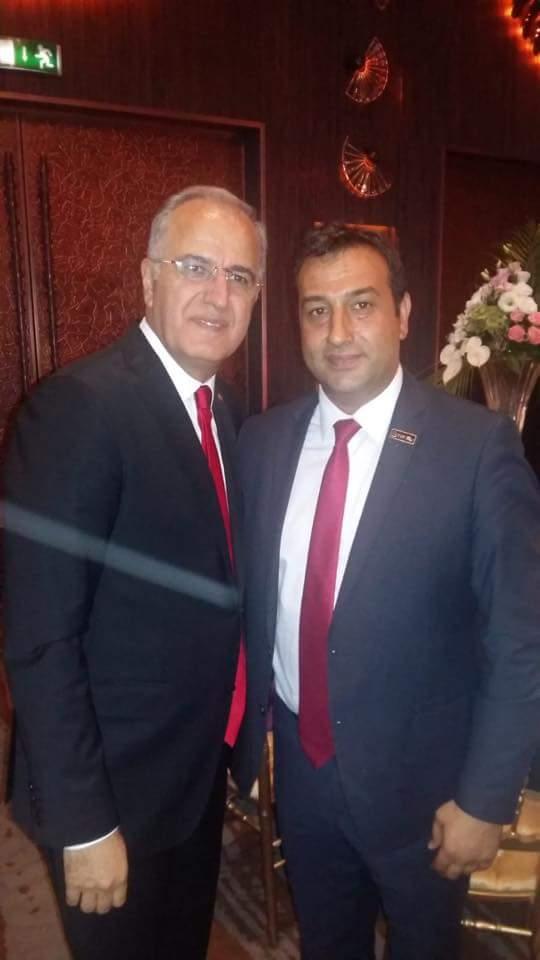 Sungurlu Belediyespor Başkanı Bahri Sezen Voleybol Federasyonu 60. Yıl Kutlama galasına katıldı. | Sungurlu Haber