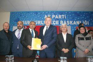 Çalışma ve İş Kurumu (İŞKUR) Muğla İl Müdürü hemşehrimiz İlyas Sarıyerli görevinden istifa ederek Ak Parti'den Sungurlu Belediye Başkan Aday adaylığını açıkladı. | Sungurlu Haber