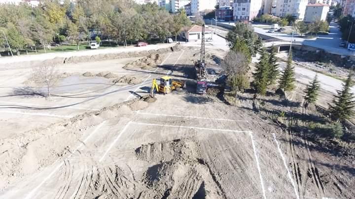 Sungurlu Belediyesi tarafından yapılan Kentpark için çalışmalar devam ediyor. | Sungurlu Haber