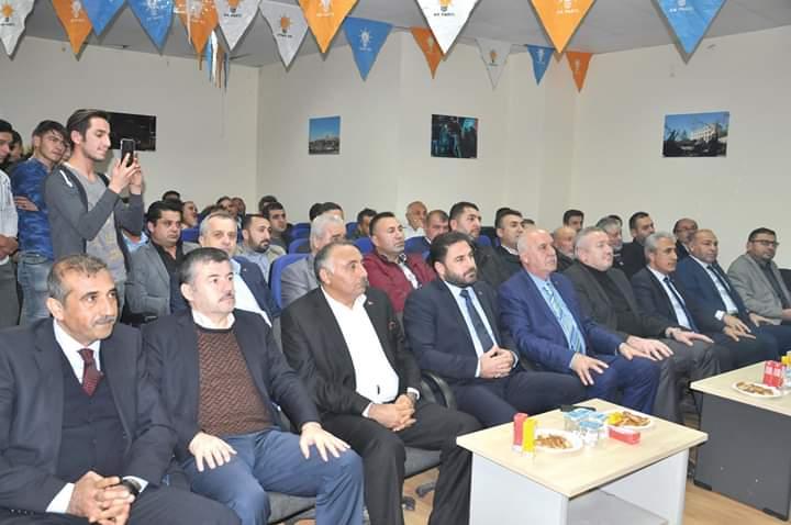 Ak Parti Sungurlu İlçe Başkanlığının Kasım ayı ilçe istişare toplantısı geniş katılım ile gerçekleştirildi. | Sungurlu Haber