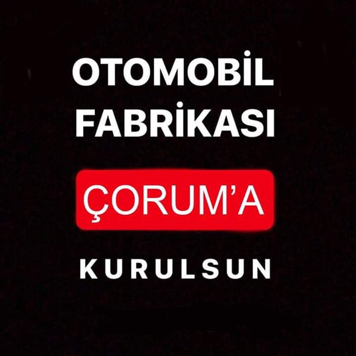 Çorum Time'ın haberine göre Ahmet Ahlatçı, Volkswagen'in Türkiye'de kurmayı düşündüğü otomobil fabrikasını Çorum'a kazandırabilmek için yoğun bir çaba gösteriyor. Volkswagen'in Türkiye'ye kurmayı planladığı otomobil fabrikasının Çorum'a kazandırılması için başlatılan kampanyaya destek için lütfen bu gönderiyi paylaşalım. Sesimizi tüm Türkiye'ye duyuralım. #Çorumüretecek | Sungurlu Haber