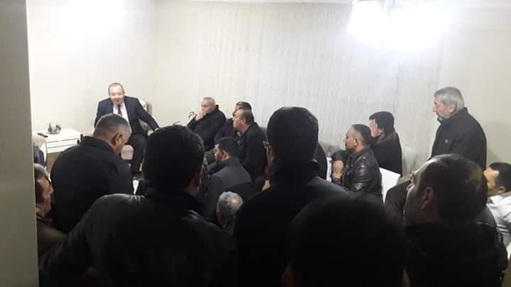 Sungurlu Belediye Başkanı ve İYİ Parti Belediye Başkan adayı Abdulkadir Şahiner, 31 Mart 2019 tarihinde yapılacak olan yerel seçimler öncesinde ev ziyaretlerine başladı. | Sungurlu Haber