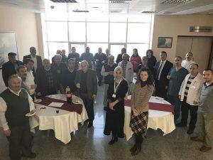 Hastane yönetimi tarafından organize edilen motivasyon programında meslekte 25 yıl ve üzeri tüm çalışanlar bir araya geldi. | Sungurlu Haber