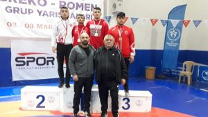 Giresun'da yapılan Yıldızlar Güreş Grup müsabakalarında sporcularımız 3 birincilik, 1 tane üçüncülük elde ettiler. | Sungurlu Haber