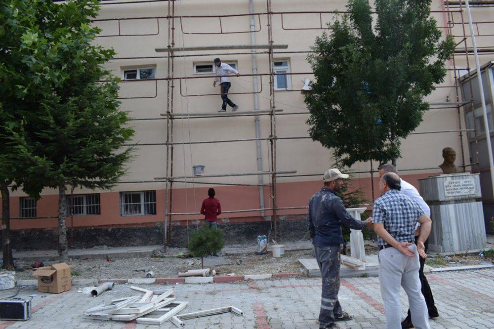 Okullar Bakıma Alındı » Sungurlu Haber