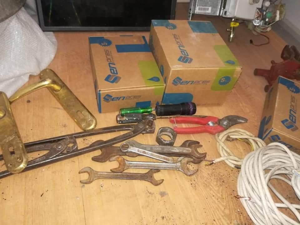 Sungurlu'da hırsızlık olaylarında çalınan eşyalar bir evde zulalanmış halde bulundu. | Sungurlu Haber