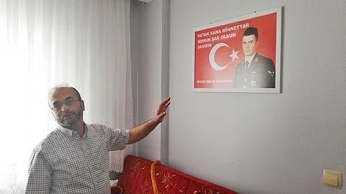 Şehit Karaman'ın Odası İlk Günkü Gibi Duruyor » Sungurlu Haber