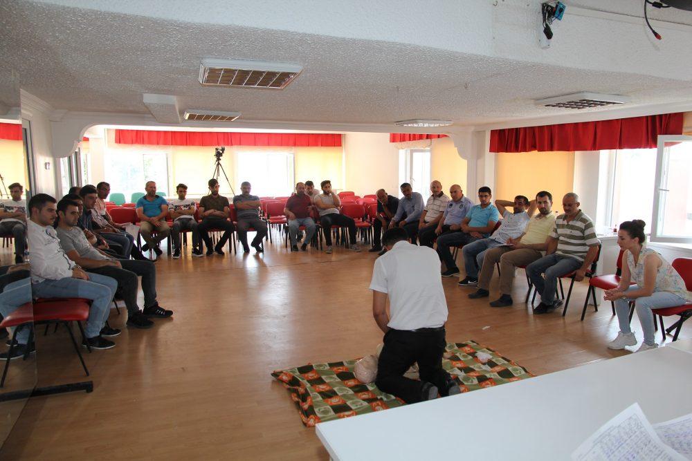 Belediye Personeline İlk Yardım Eğitimi » Sungurlu Haber