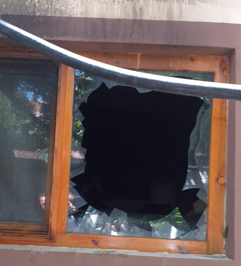 Sungurlu'da meydana gelen yangında ev kullanılmaz hale geldi. | Sungurlu Haber