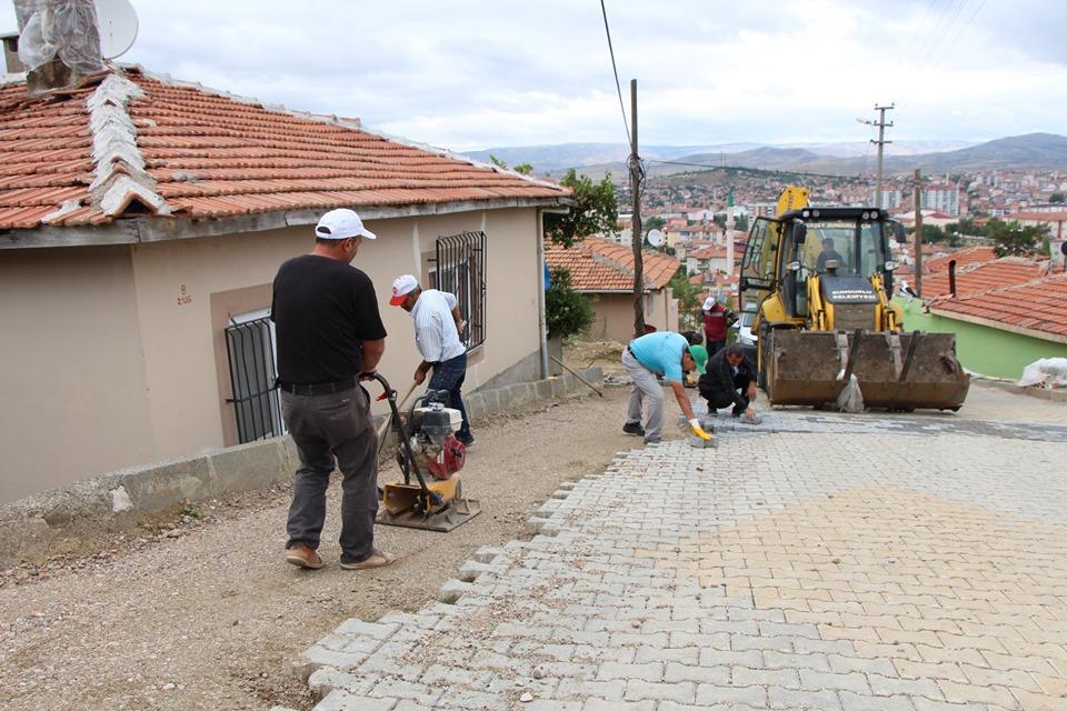 Sungurlu Belediye Başkanlığı Fen İşleri Müdürlüğü ekipleri çalışmalarına hız kesmeden devam ediyor. | Sungurlu Haber