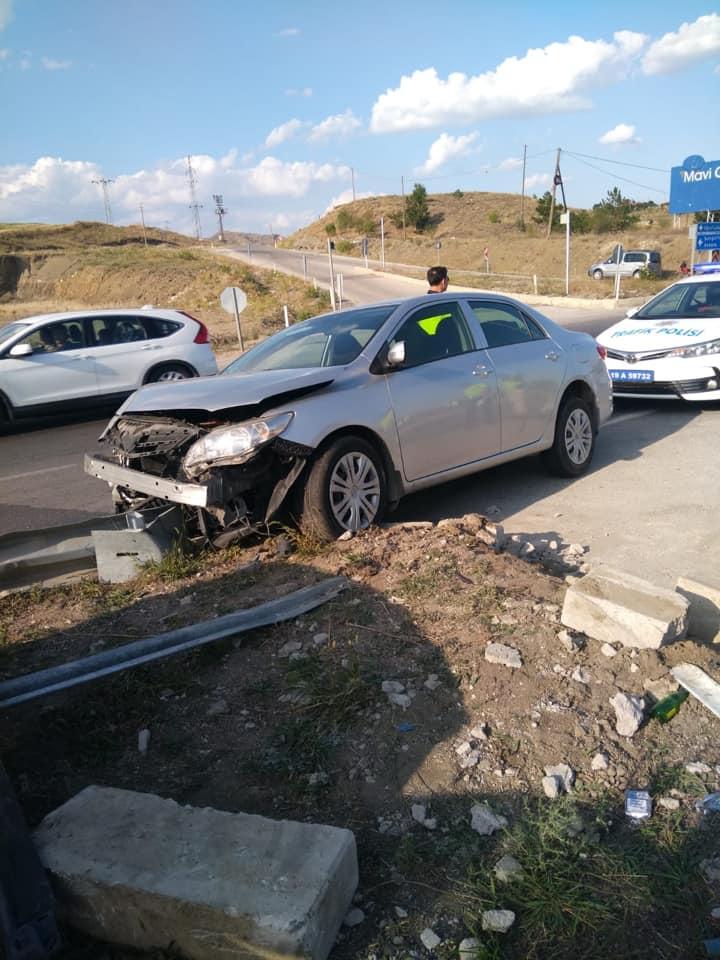 Sungurlu'da 4 farklı noktada meydana gelen kazalarda toplam 10 kişi yaralandı. | Sungurlu Haber